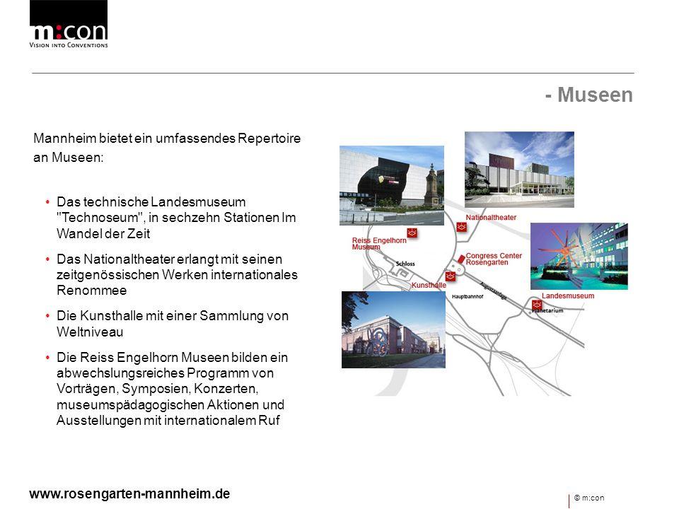 - Museen Mannheim bietet ein umfassendes Repertoire an Museen: