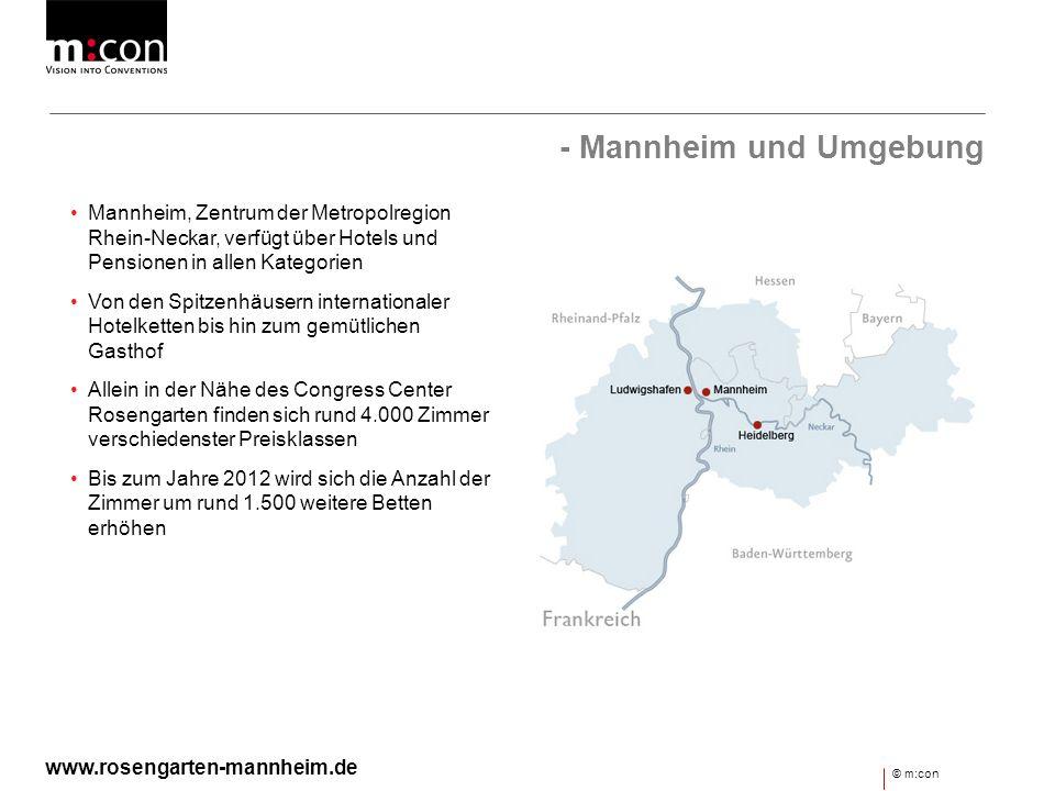 - Mannheim und Umgebung