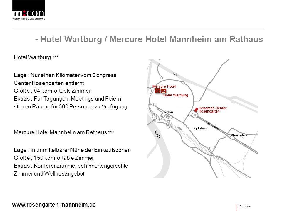 - Hotel Wartburg / Mercure Hotel Mannheim am Rathaus