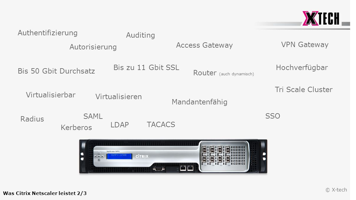 Was Citrix Netscaler leistet 2/3