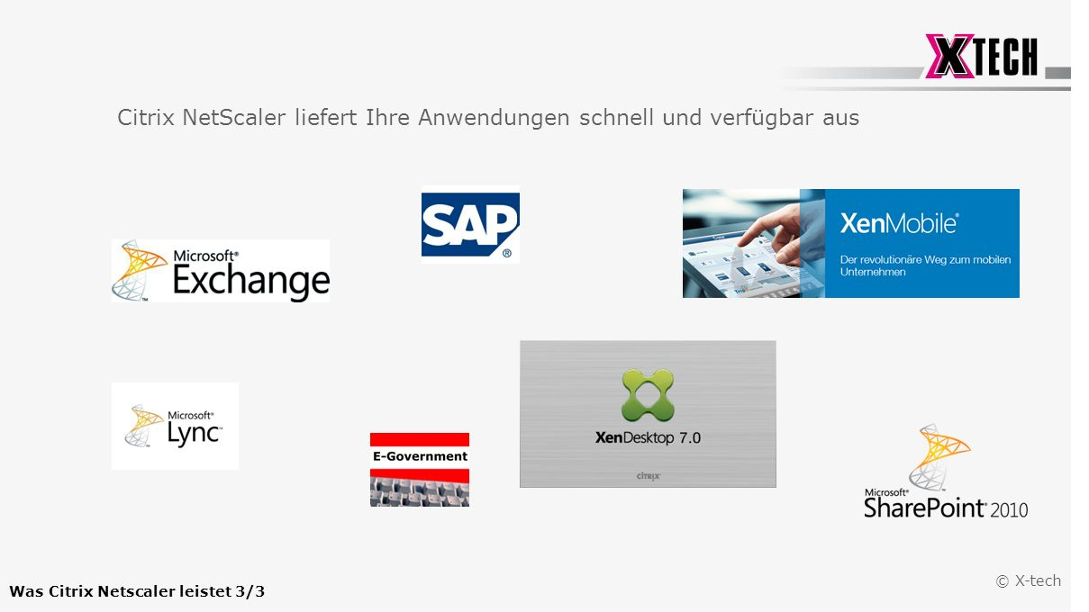 Was Citrix Netscaler leistet 3/3