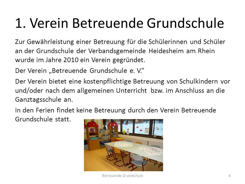 1. Verein Betreuende Grundschule
