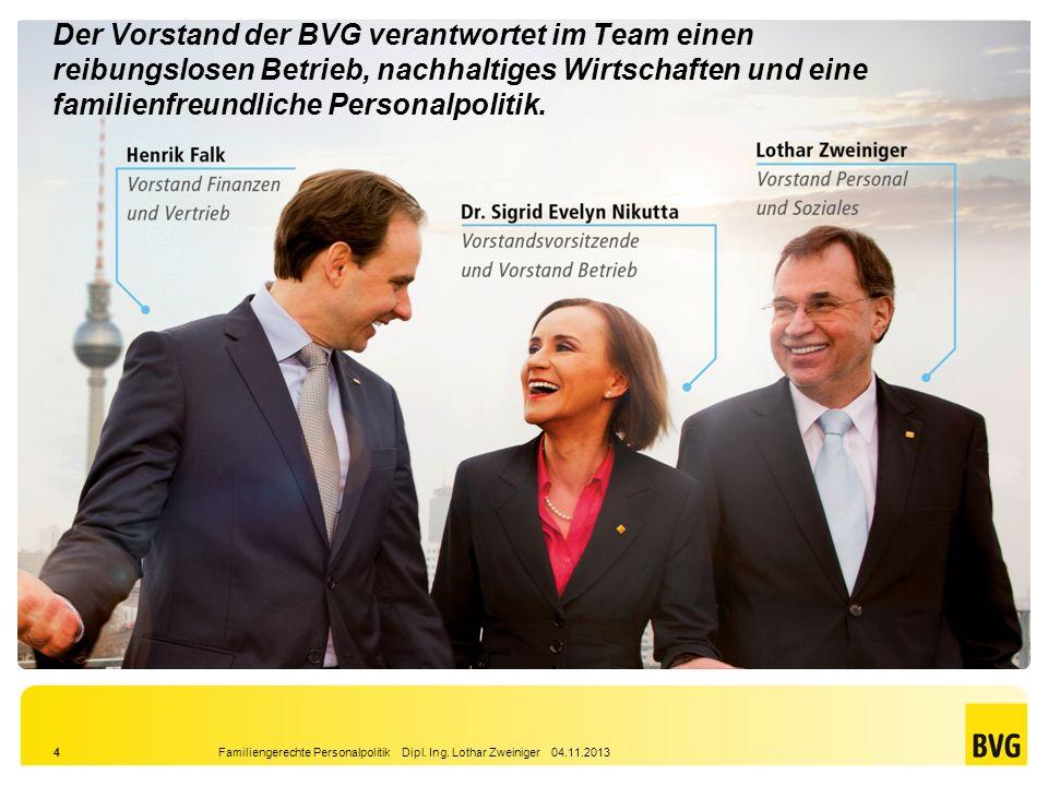 Die Berliner Verkehrsbetriebe 2013