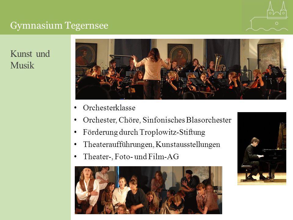 Kunst und Musik Orchesterklasse