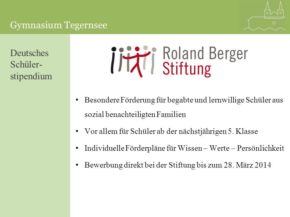 Deutsches Schüler-stipendium