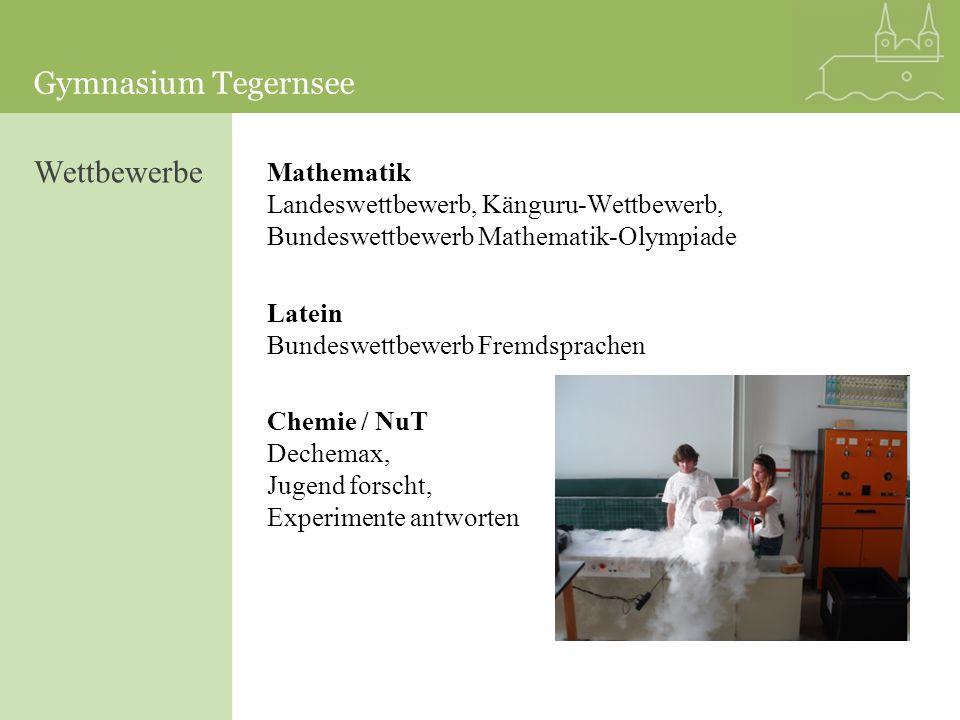 Wettbewerbe Mathematik Landeswettbewerb, Känguru-Wettbewerb, Bundeswettbewerb Mathematik-Olympiade.