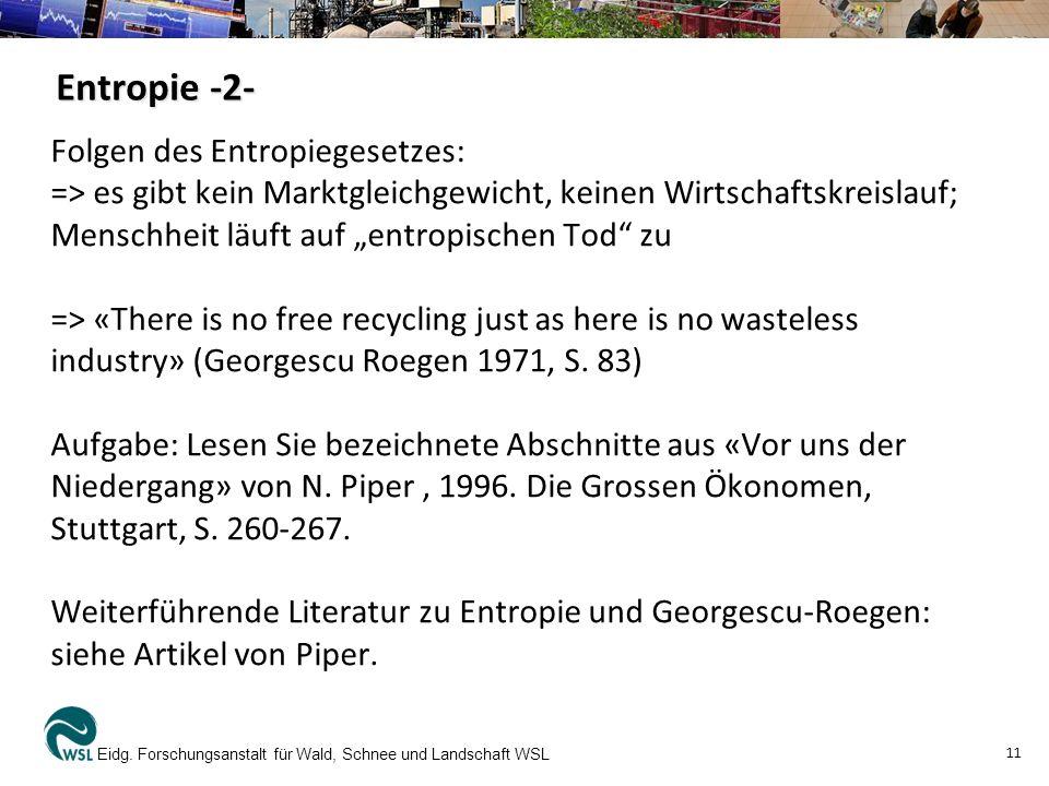 Entropie -2-
