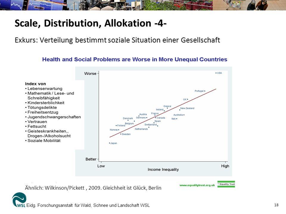 Exkurs: Verteilung bestimmt soziale Situation einer Gesellschaft