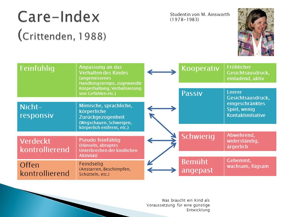 Care-Index (Crittenden, 1988)