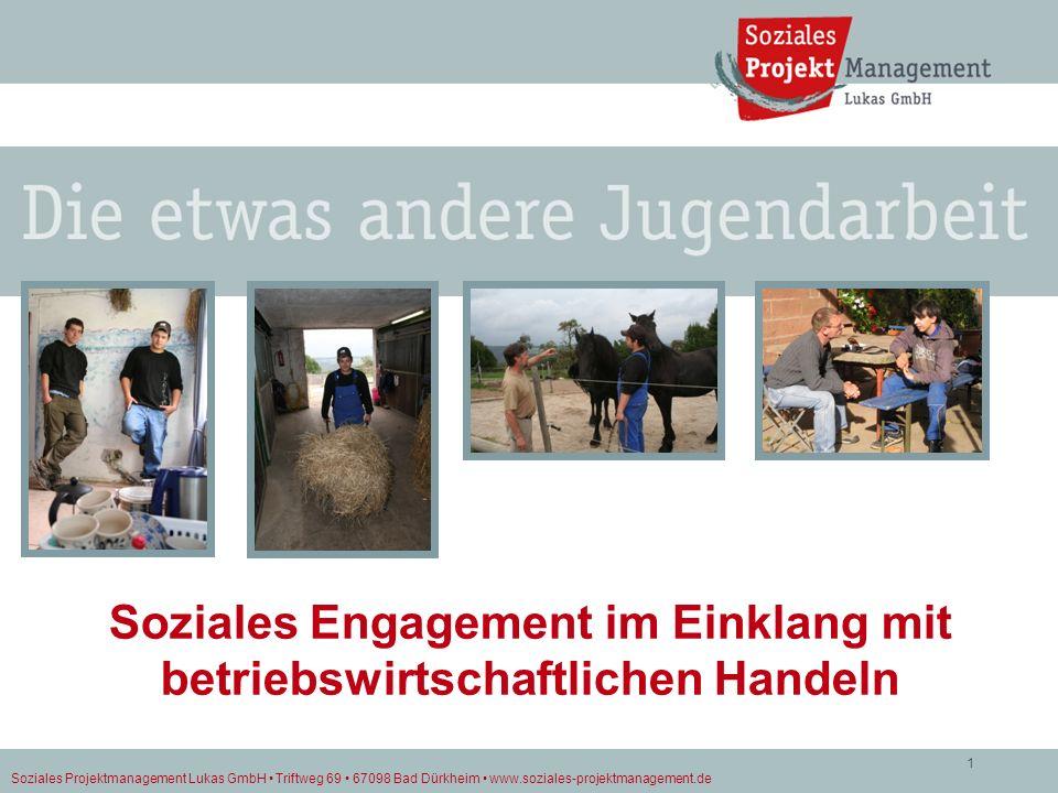 Soziales Engagement im Einklang mit betriebswirtschaftlichen Handeln