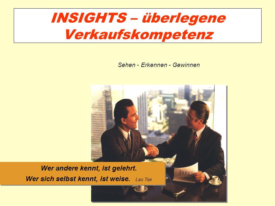 INSIGHTS – überlegene Verkaufskompetenz