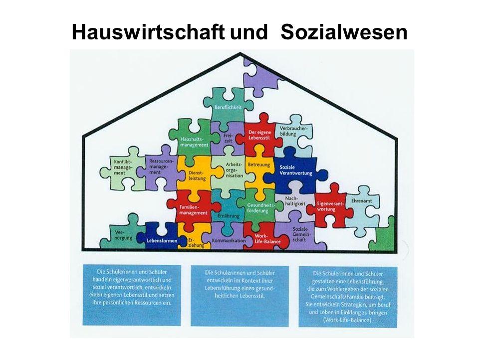 Hauswirtschaft und Sozialwesen