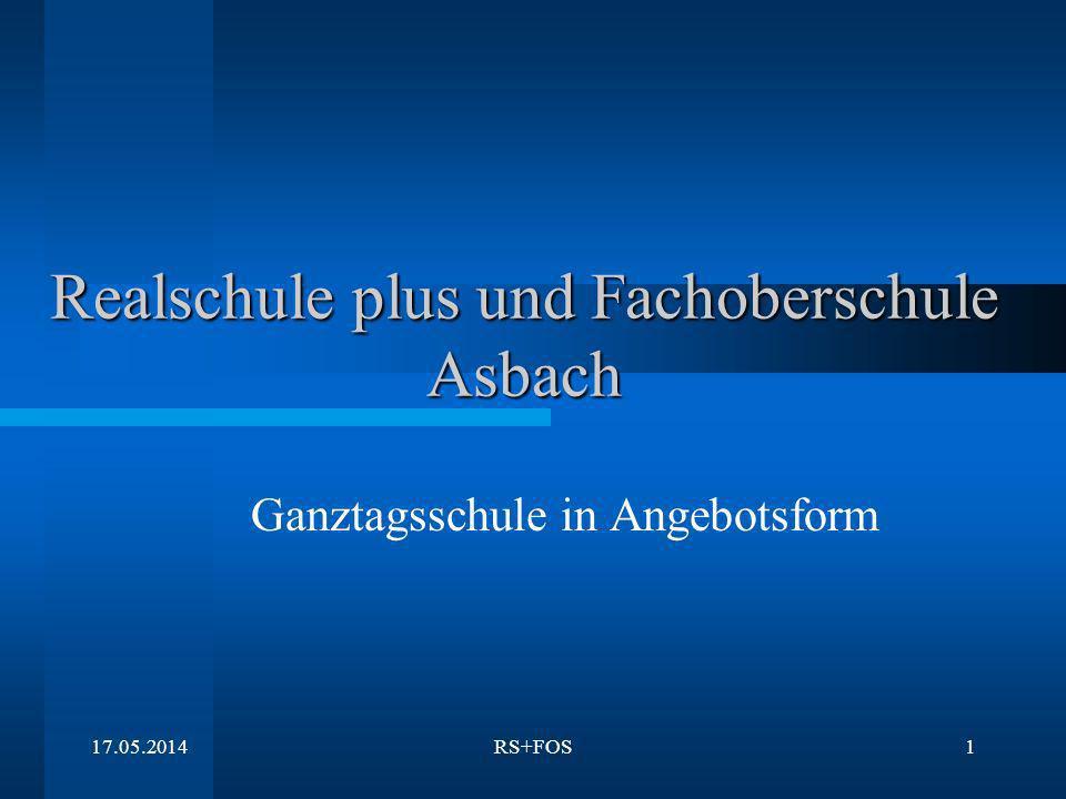 Realschule plus und Fachoberschule Asbach