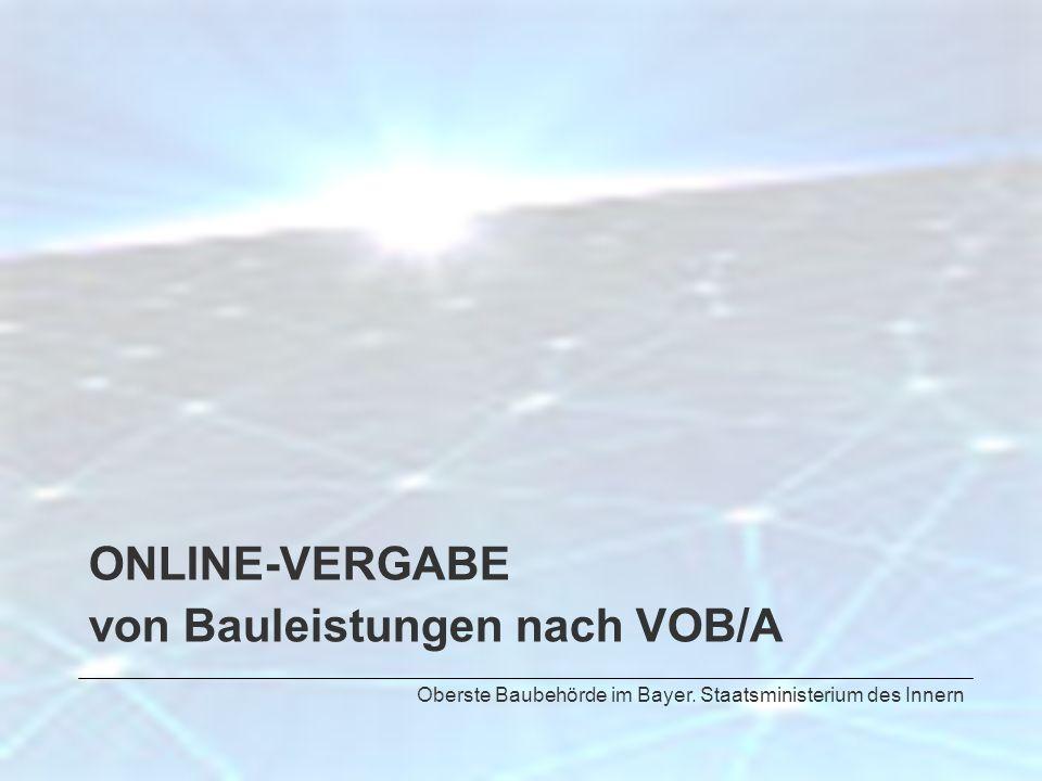von Bauleistungen nach VOB/A