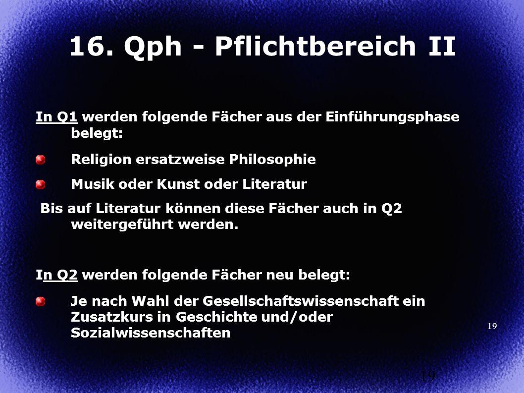 16. Qph - Pflichtbereich II