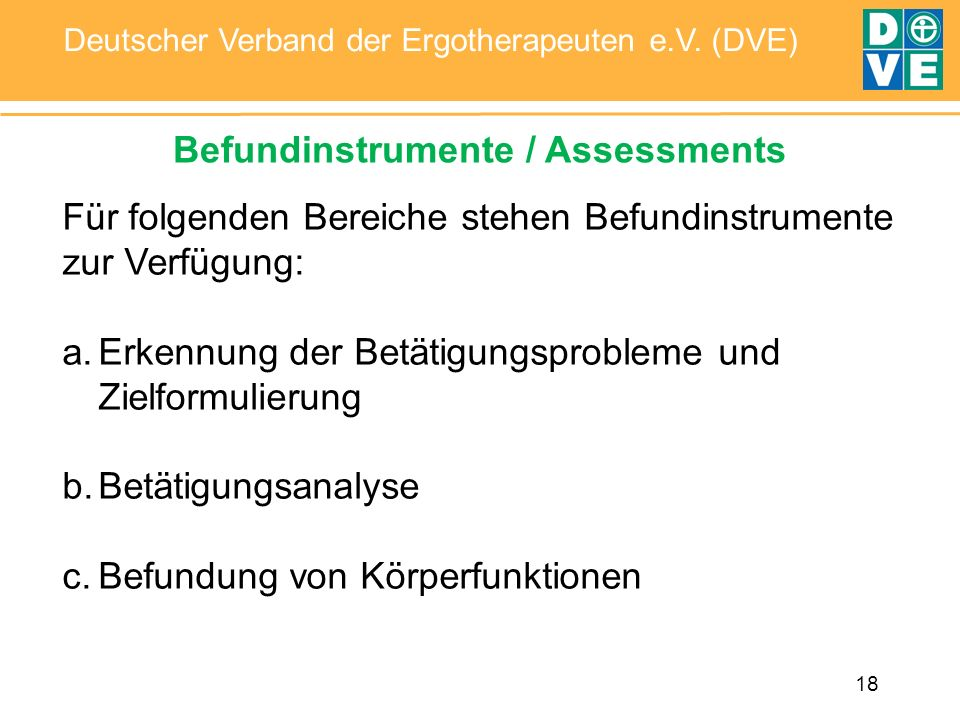 Befundinstrumente / Assessments