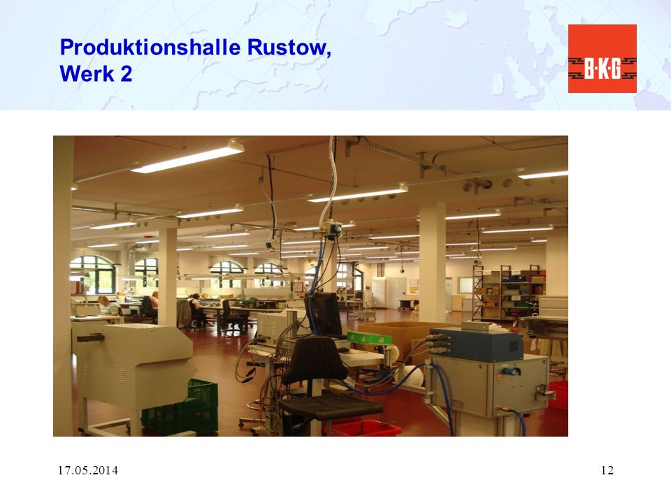 Produktionshalle Rustow, Werk 2
