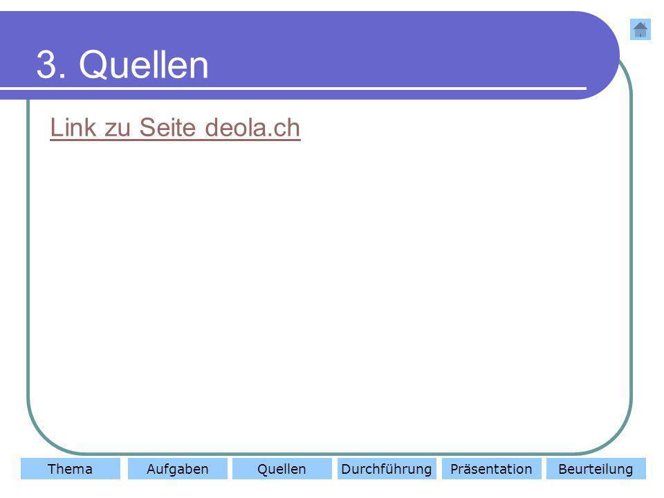 3. Quellen Link zu Seite deola.ch