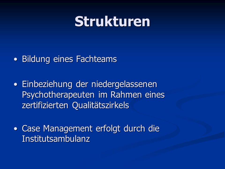 Strukturen Bildung eines Fachteams