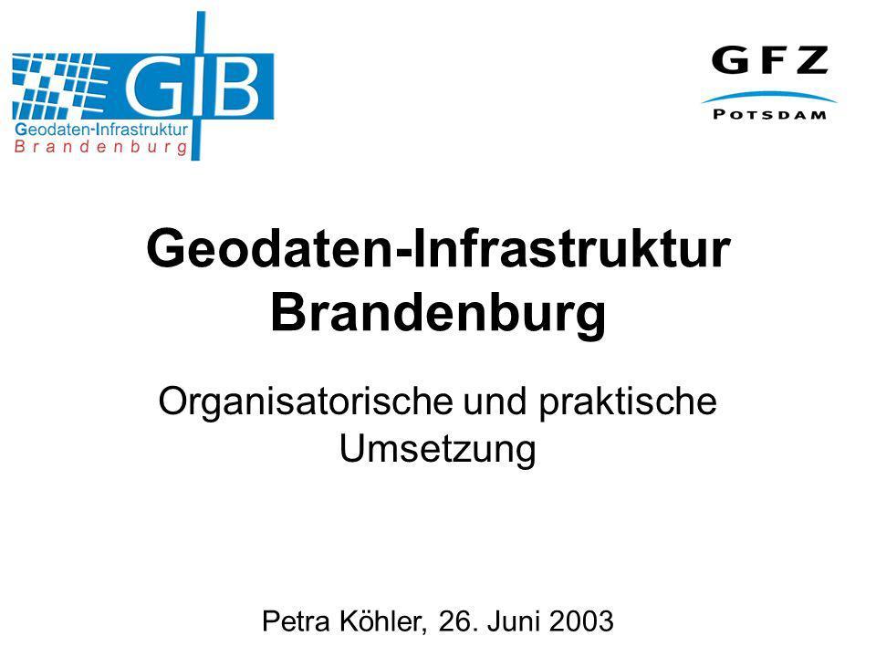 Geodaten-Infrastruktur Brandenburg