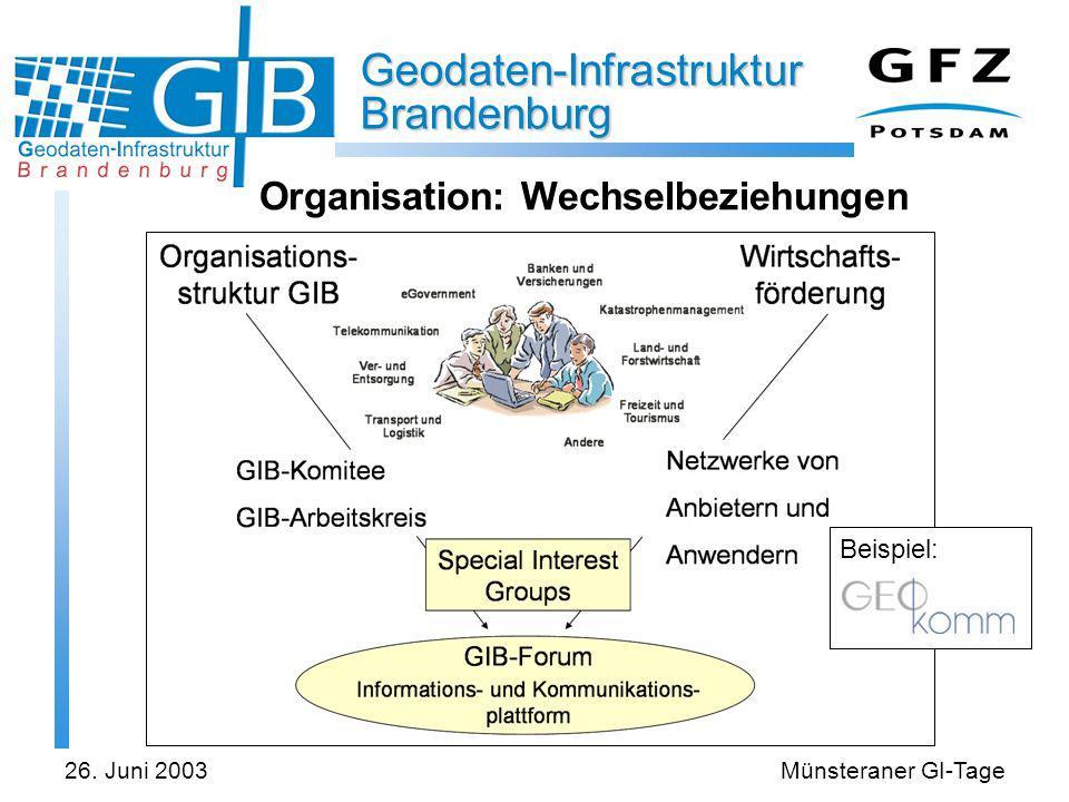 Organisation: Wechselbeziehungen