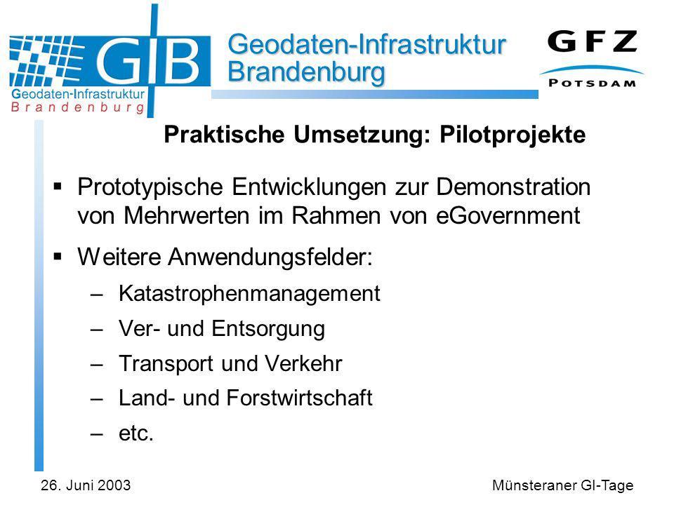 Praktische Umsetzung: Pilotprojekte