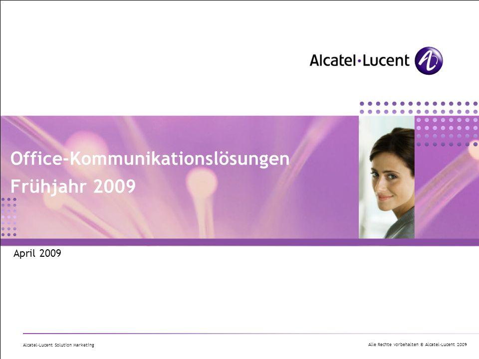 Office-Kommunikationslösungen Frühjahr 2009