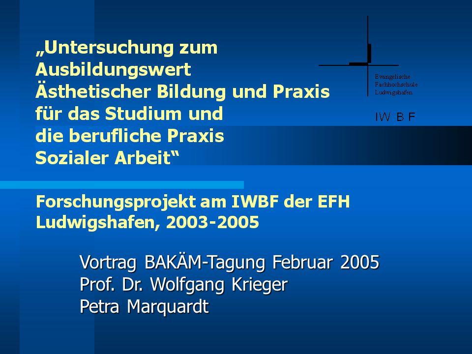 Vortrag BAKÄM-Tagung Februar 2005