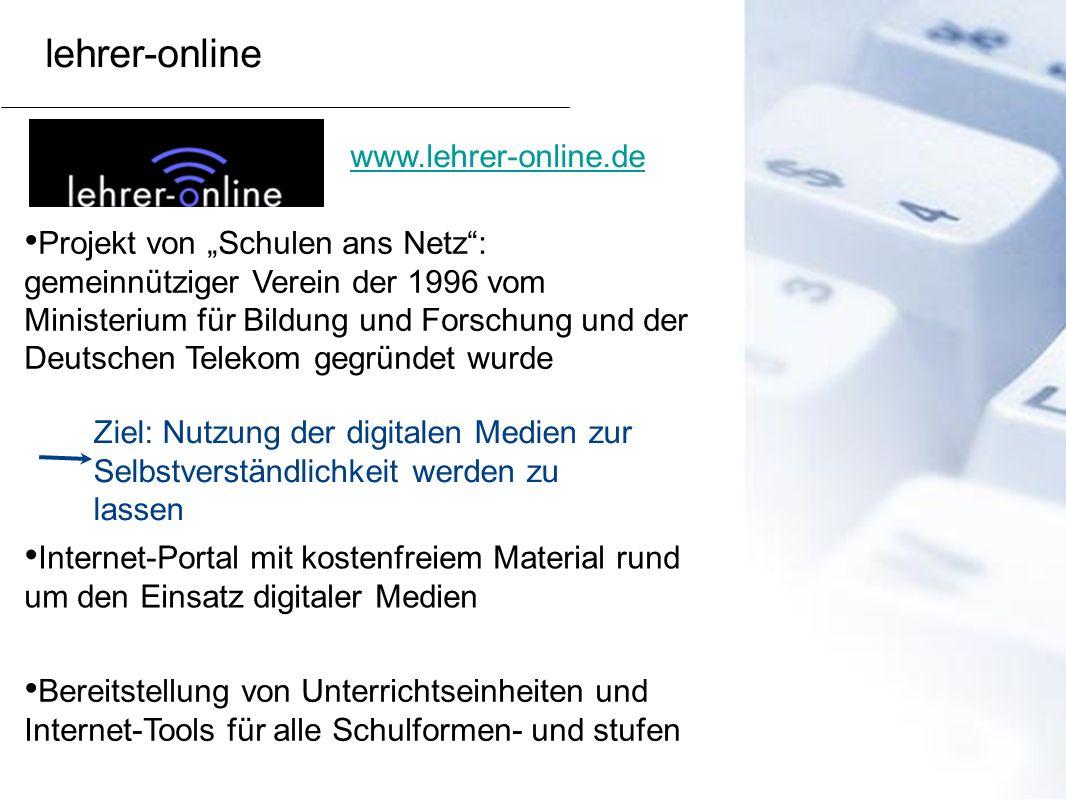 lehrer-online www.lehrer-online.de