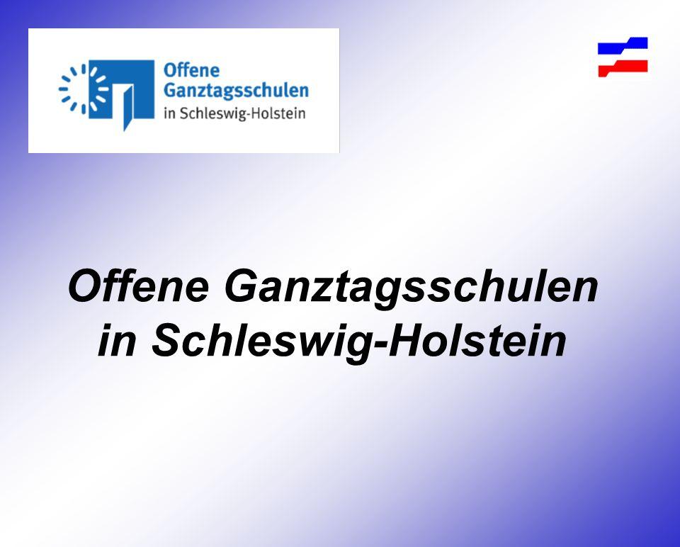 Offene Ganztagsschulen in Schleswig-Holstein