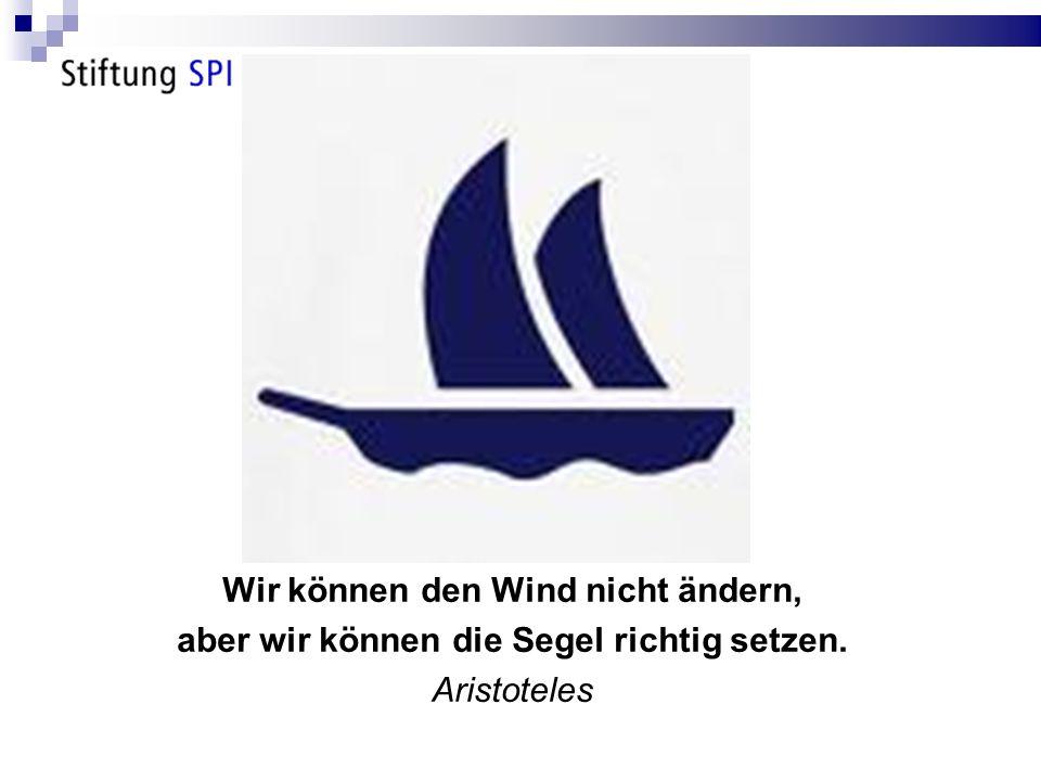 Wir können den Wind nicht ändern,