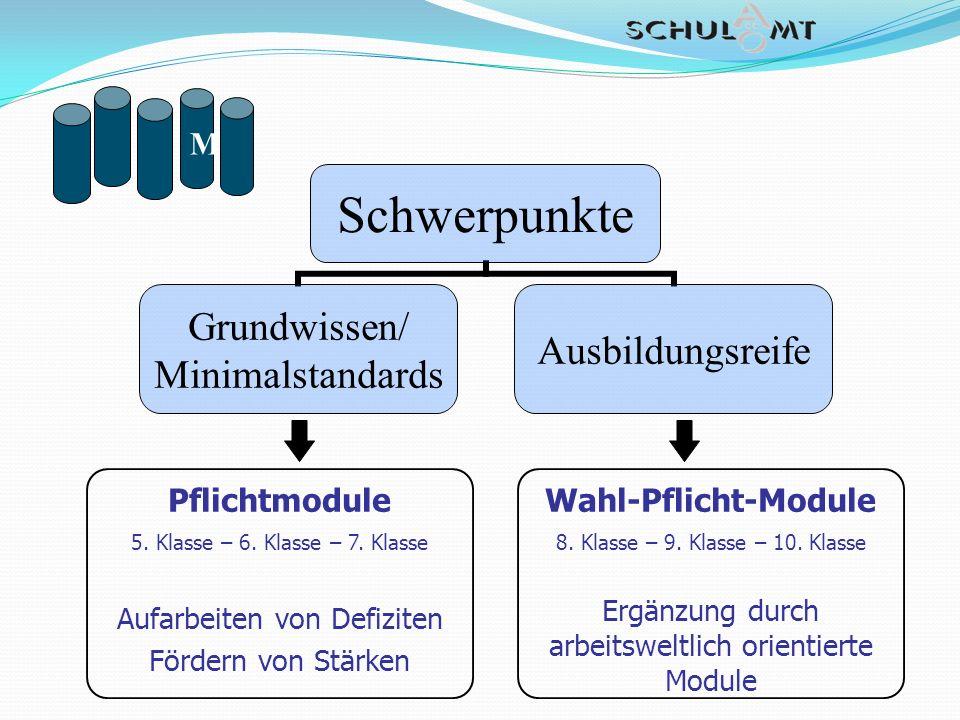 Pflichtmodule Wahl-Pflicht-Module