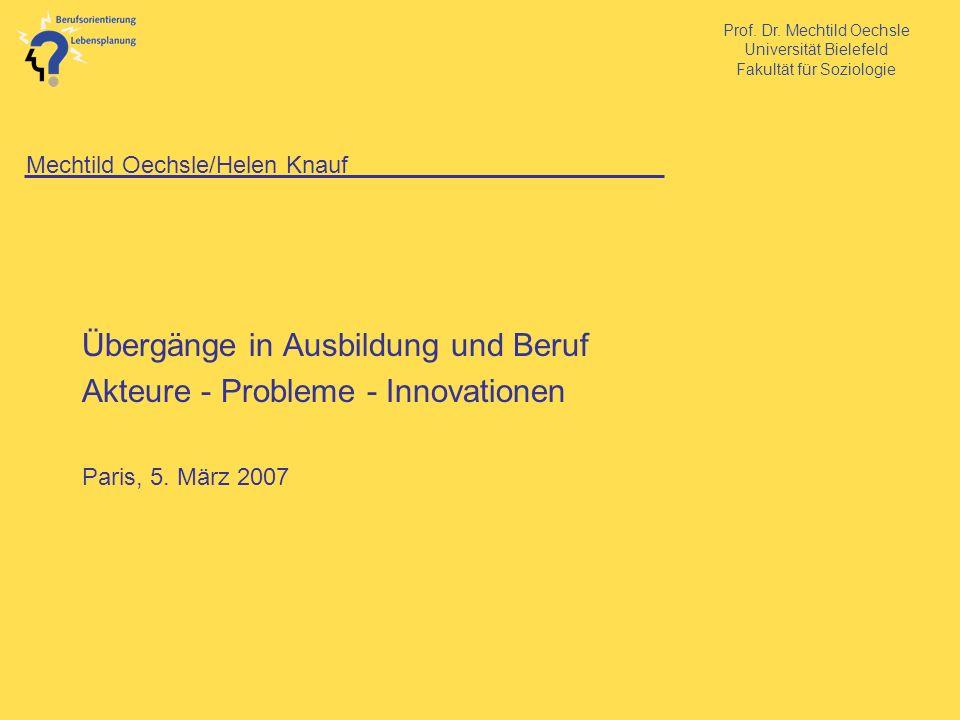 Mechtild Oechsle/Helen Knauf