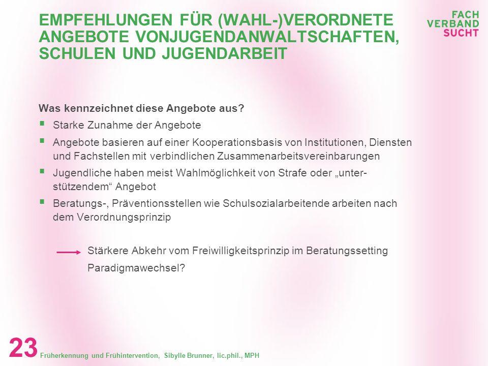 EMPFEHLUNGEN FÜR (WAHL-)VERORDNETE ANGEBOTE VONJUGENDANWALTSCHAFTEN, SCHULEN UND JUGENDARBEIT