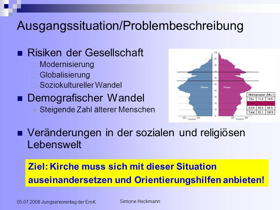 Ausgangssituation/Problembeschreibung