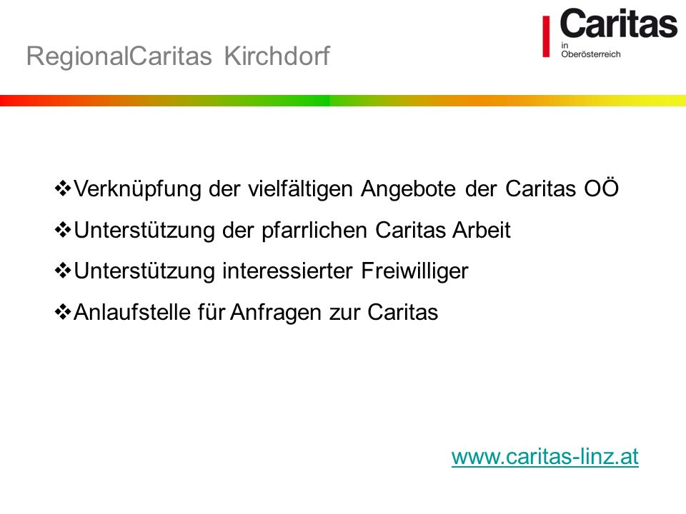 RegionalCaritas Kirchdorf