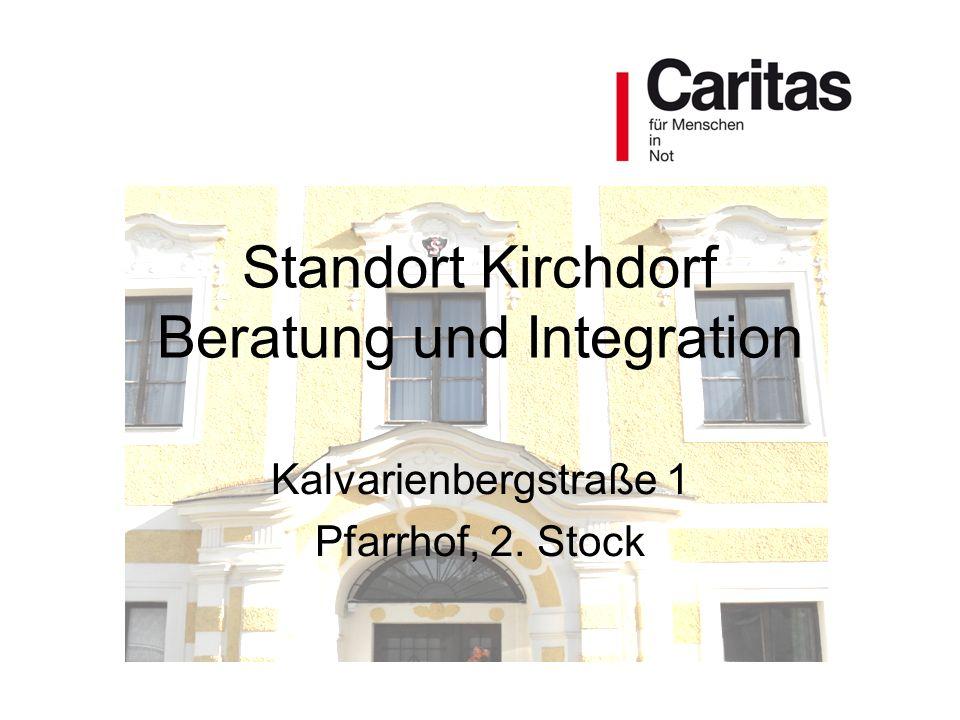 Standort Kirchdorf Beratung und Integration