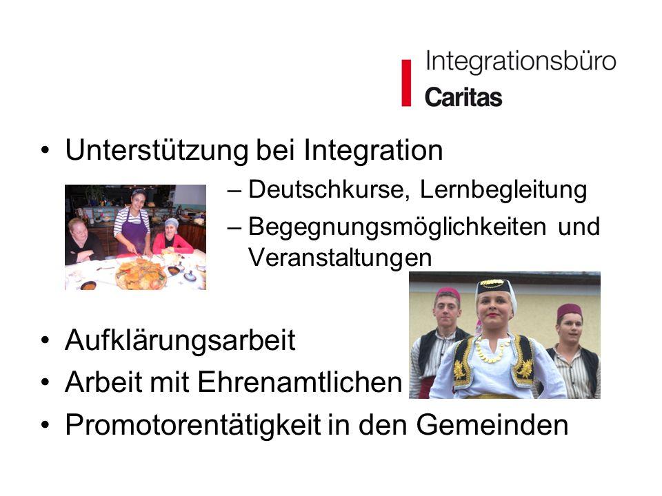 Unterstützung bei Integration