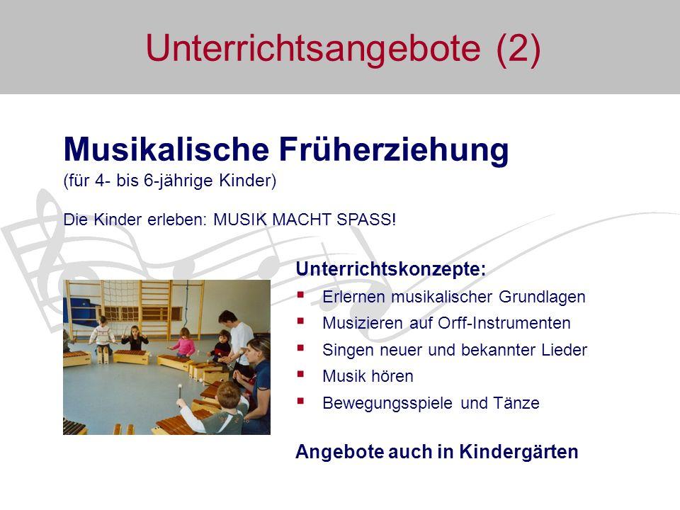 Unterrichtsangebote (2)