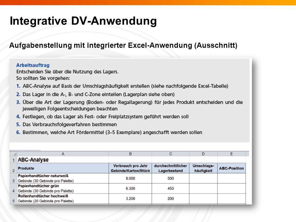 Integrative DV-Anwendung