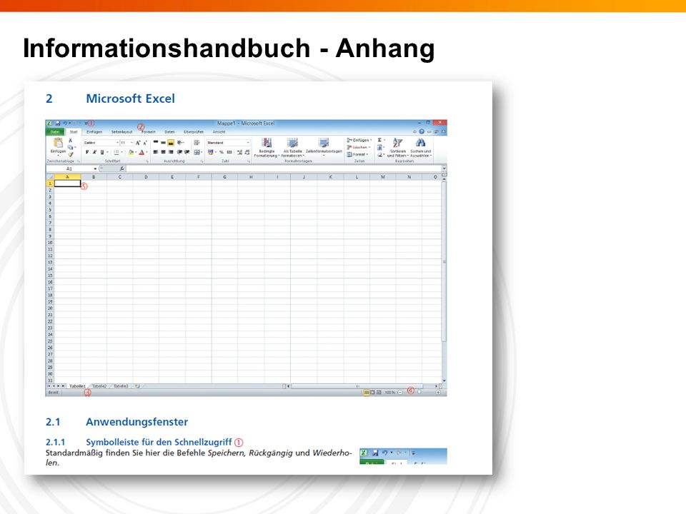 Informationshandbuch - Anhang