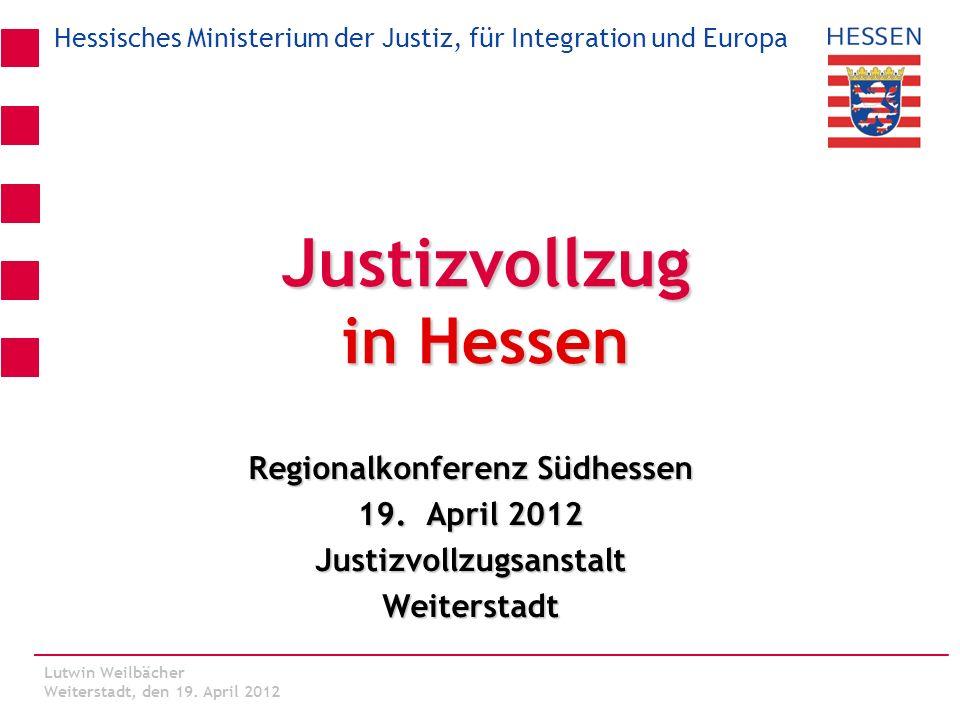 Justizvollzug in Hessen