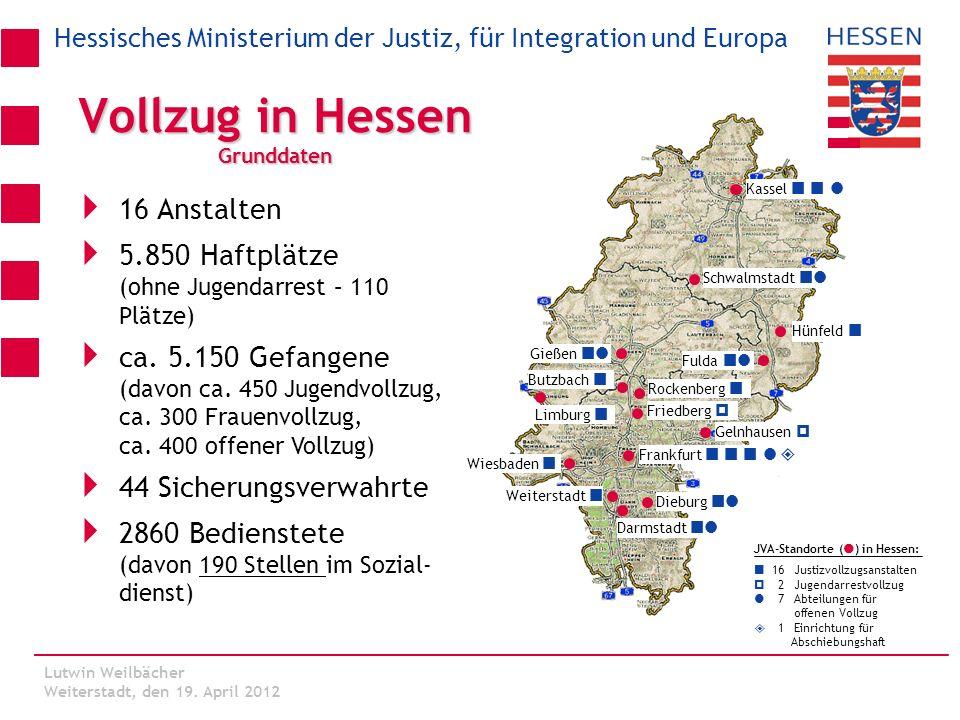 Vollzug in Hessen Grunddaten