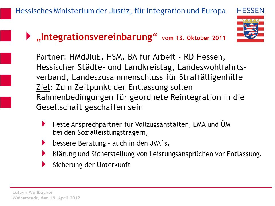 """Integrationsvereinbarung vom 13. Oktober 2011"