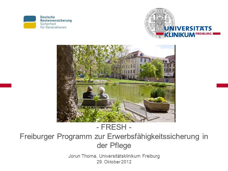 Jorun Thoma, Universitätsklinikum Freiburg