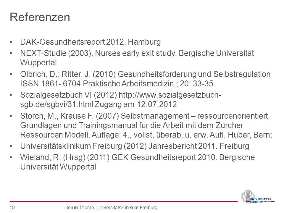 Referenzen DAK-Gesundheitsreport 2012, Hamburg