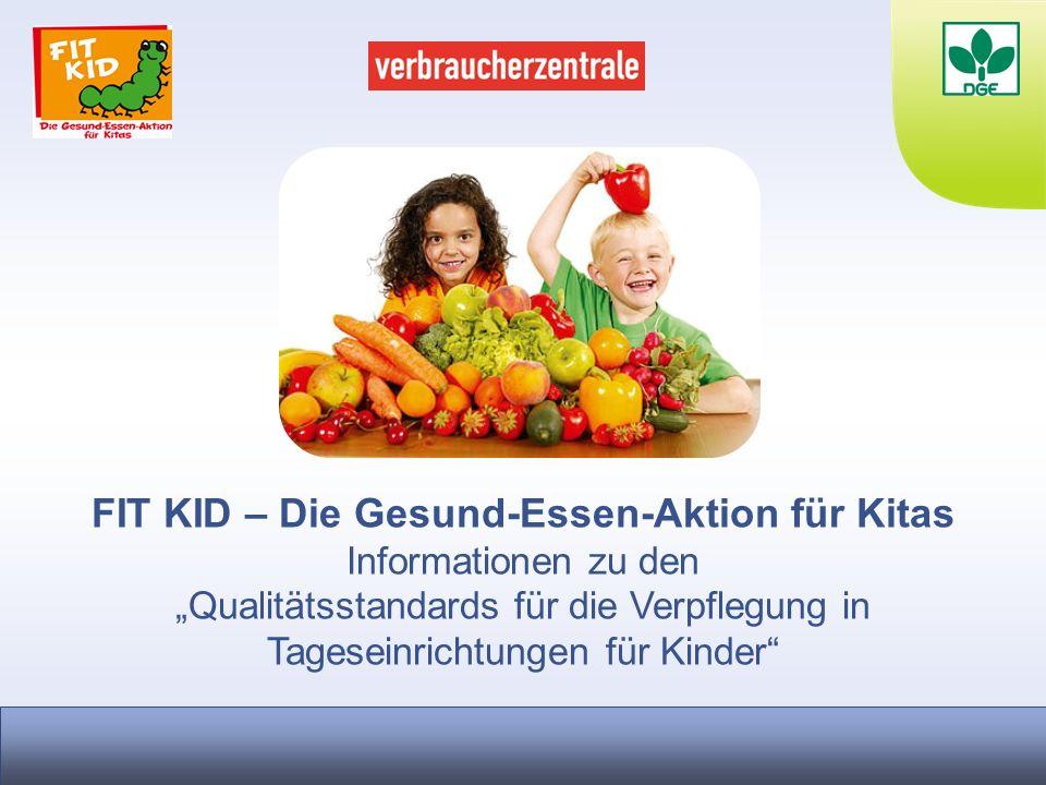 FIT KID – Die Gesund-Essen-Aktion für Kitas