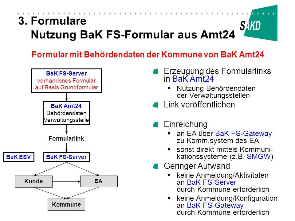 3. Formulare Nutzung BaK FS-Formular aus Amt24