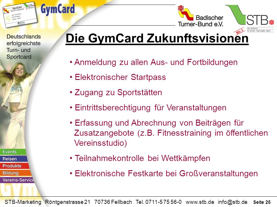 Die GymCard Zukunftsvisionen