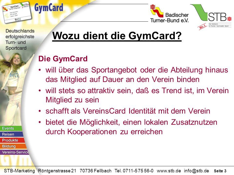 Wozu dient die GymCard Die GymCard